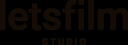 Logotip de Letsfilm studio, productora audiovisual